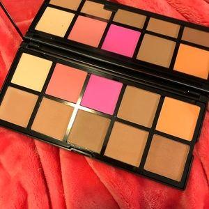 ELF Makeup - elf cosmetics eye and cheek palette